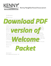 Download PDF version of Welcome Packet